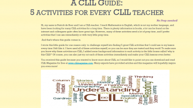 A CLIL Guide front